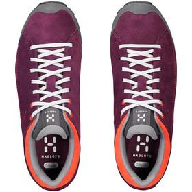 Haglöfs Roc Lite Shoes Dam aubergine/habanero